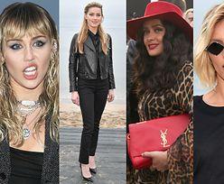 Miley Cyrus, Hailey Bieber i Anja Rubik bawią się na plaży w Malibu (ZDJĘCIA)