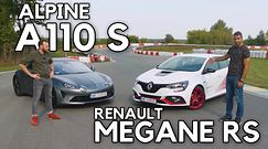Renault Megane RS vs Alpine A110 S – lepszy napęd na przód czy na tył?