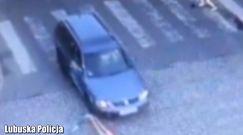 Potrącił dziecko na pasach. Lubuska policja publikuje nagranie i apeluje do kierowców