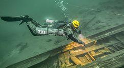 Nurkowanie w Morskim Oku. Ratownicy TOPR szkolili się w wodach największego jeziora Tatr.