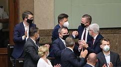 Odwołanie Michała Dworczyka, Jacka Sasina i Mariusza Kamińskiego. Rzeczniczka Porozumienia tłumaczy głosowanie