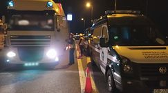 Wielka nocna kontrola ciężarówek. Zaskakujące, co inspektorzy ujawnili w trakcie akcji na A1