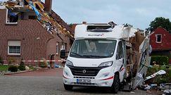 Ogromne zniszczenia po uderzeniu tornada. Wstrząsające obrazy z północnych Niemiec