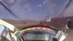 Pędził prawie 300 km/h. Dramatyczny wypadek motocyklisty
