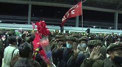 Walczyli ze skutkami tajfunu w Korei Północnej