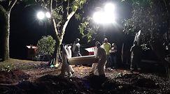 Rekord zgonów w Brazylii. Brakuje czasu na pochówki, cmentarze otwierane są w nocy