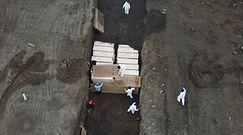 Nowy Jork kopie masowe groby
