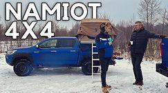 Toyota Hilux + namiot, czyli noc spędzona w terenie
