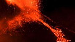 Erupcja wulkanu Etna. Spektakularne ujęcia z wybuchu na Sycylii