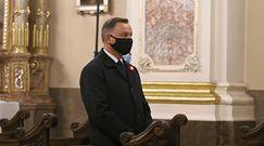 Afera z lotem Andrzeja Dudy. Katastrofa smoleńska w odpowiedzi na pytanie