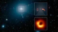 Cień czarnej dziury. To odkrycie potwierdza teorię Einsteina