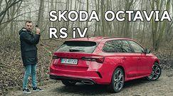 Skoda Octavia RS iV - czy wtyczka i RS idą w parze?