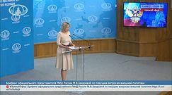 Rosja ostrzega Stany Zjednoczone. Ostra odpowiedź na działania Białego Domu