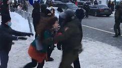 Protesty po zatrzymaniu Nawalnego. Rosyjskie służby w akcji