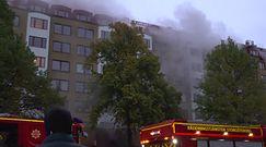Wielu rannych w wyniku eksplozji w bloku. Nagranie z akcji ratunkowej w Szwecji