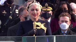 Lady Gaga zaśpiewała na zaprzysiężeniu Bidena. Uwagę zwrócił szczegół na sukience