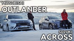 Across vs Outlander - 5 zadań dla dużych hybryd plug-in