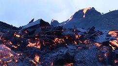Wybuch wulkanu na Islandii. Dramatyczne nagranie świadków