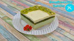 Orzeźwiające ciasto z kiwi bez pieczenia. Najlepszy deser na upalne dni