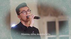 """""""Mizerna cicha"""" - Miłosz Mogielski z """"The Voice of Poland"""" śpiewa piękną kolędę"""