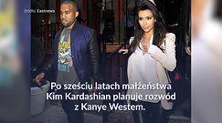 Media nie mają wątpliwości. Kim Kardashian i Kanye West rozwodzą się