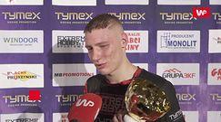 """Kamil Kuździeń wygrał swój pojedynek na gali Tymex Boxing Night 15. """"Nie podpalałem się, chciałem pokazać dobry boks"""""""