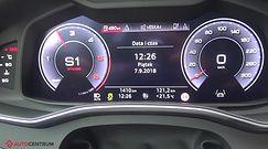 Audi A6 Avant 50 TDI 286 KM (AT) - acceleration 0-100 km/h