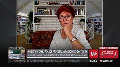 """Jolanta Kwaśniewska o decyzji TK ws. aborcji. """"Nie możemy liczyć na Agatę Dudę"""""""