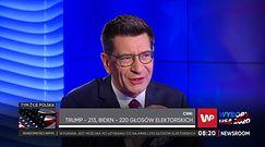 Wybory w USA. Witold Waszczykowski gorzko o współpracy z UE. Zeszło na Donalda Tuska