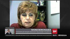 Pielęgniarki oburzone słowami Jacka Sasina. Iwona Borchulska zabrała głos