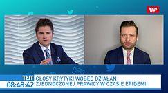 Kamil Bortniczuk o politykach Konfederacji: nie chce nikogo przezywać
