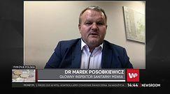 Czerwona strefa w całej Polsce? Dr Marek Posobkiewicz: zakażeń już jest bardzo dużo