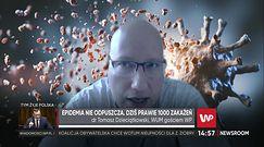 Dr Dzieciątkowski o testach na koronawirusa w Polsce