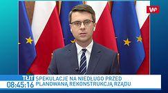 """Rekonstrukcja rządu. Piotr Mueller o Władysławie Kosiniaku-Kamyszu i PSL. """"Nie ma takich marzeń"""""""