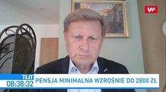 """Płaca minimalna 2800 zł. """"Takich absurdów nie było nawet w PRL-u"""""""