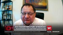 """Wybory 2020. Ryszard Kalisz: """"szpagaty polityczne"""" Rafała Trzaskowskiego są niezbędne do jego wygranej"""