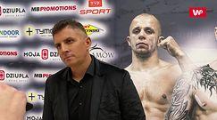 """MB Boxing Night 7. Mateusz Borek spokojny przed organizacją gali po powrocie. """"Z samego biadolenia nic nie ma"""""""