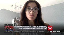 Najnowszy sondaż IBRIS dla WP. Prof. Renata Mieńkowska-Norkiene: opozycja się pogubiła