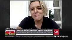 """Rejestr gości weselnych. """"Ciężko go wprowadzić nie łamiąc prawa w Polsce"""""""