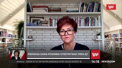 """Jolanta Kwaśniewska o pensji dla pierwszej damy. """"Płaciliśmy z własnej kieszeni"""""""