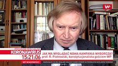 Wybory 2020 od nowa? Prof. Ryszard Piotrowski wyjaśnia