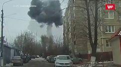 Gigantyczna eksplozja pod Moskwą. Nagranie świadka