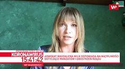 """Koronawirus w Polsce. Adwokat Magdalena Wilk podsumowała wprowadzone zakazy. """"To są absurdy"""""""
