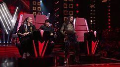 """""""The Voice of Poland"""": Michał Szpak i Baron zrobili skecz na scenie"""