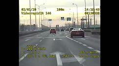 Kierowca ferrari pędził 200 km/h mostem Północnym w Warszawie