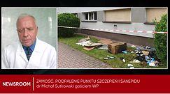 Nasilające się ataki antyszczepionkowców. Dr Sutkowski: Czyste chamstwo i bandytyzm