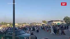 Strzały na lotnisku w Kabulu. Afgańczycy desperacko chcą wydostać się z kraju