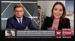 """Twarda polityka Francji ws. szczepień i """"wejściówek sanitarnych"""". Relacja Polki z Paryża"""