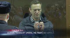 Rosyjskie służby więzienne: Aleksiej Nawalny ma trafić do szpitala
