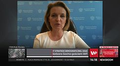 Demografia w Polsce jak grzyb. Socha: Musimy działać szybko i skutecznie